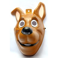 Adult Size Scooby Doo Halloween Mask Rubies Shaggy Dog Hanna Barbera PVC Y055