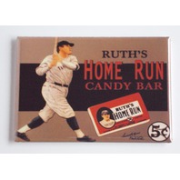 Babe Ruths home run candy bar FRIDGE MAGNET wrapper advertisement Yankees H5