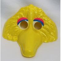 Vintage Sesame Street Big Bird Halloween Mask Jim Henson 1979 Yellow Y149