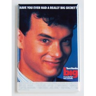 Big movie poster FRIDGE MAGNET retro 80s Tom Hanks comedy refrigerator magnet L5