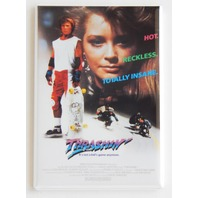Thrashin movie poster FRIDGE MAGNET retro 80s Skateboard skate magnet