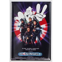 Ghostbusters 2 movie poster FRIDGE MAGNET retro 80s stay puft Murray aykroyd N9