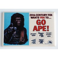 Go Ape FRIDGE MAGNET Planet of the Apes 20th century fox refrigerator magnet A9