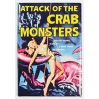 Attack of the Crab Monsters movie poster FRIDGE MAGNET pin up sci fi film Q7