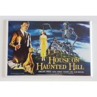 House on Haunted Hill movie poster FRIDGE MAGNET skeleton scary horror film F1