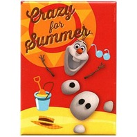 Olaf Disney Frozen FRIDGE MAGNET Snowman crazy for summer refrigerator magnet R15