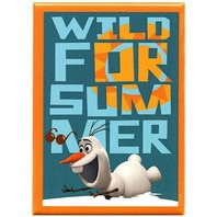 Olaf Disney Frozen FRIDGE MAGNET Snowman wild for summer refrigerator magnet R14