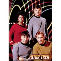 Star Trek Portrait FRIDGE MAGNET Captain Kirk Spock Enterprise Doctor Mccoy C26