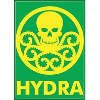 Hydra Logo FRIDGE MAGNET Comic Books Avengers Marvel Captain America Shield O15