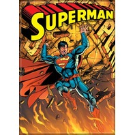 DC Comics Superman FRIDGE MAGNET Super Hero Man of Steel Comic Book F19