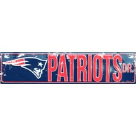 New England Patriots Drive Tin Metal Street Sign NFL Football Team Sports Decor G004