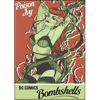 DC Comics Bombshells Poison Ivy FRIDGE MAGNET Justice League of Friends E29
