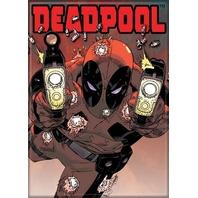 Marvel Comics Deadpool FRIDGE MAGNET Avengers Comic Books J20