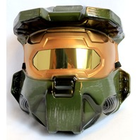 Halo Master Chief Halloween Mask Green Spartan XBox One 360 Video Game