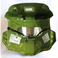 Halo Red Spartan Halloween Mask XBox One 360 Master Chief Video Game Y144