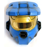 Halo Blue Spartan Halloween Mask XBox One 360 Master Chief Video Game