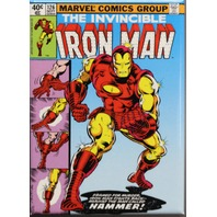 The Invicible Iron Man FRIDGE MAGNET Marvel Comics Comic Book Stark Avenger C31