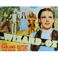 The Wizard of Oz Tin Metal Sign Dorothy Home Movie Theater Judy Garland D58