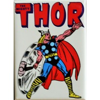 Vintage Retro Styled Thor FRIDGE MAGNET Avengers Marvel Comics Comic Book ATAM