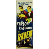 Edgar Allan Poe Mystery Show The Raven Movie Poster FRIDGE MAGNET Karloff Lugosi
