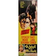 Dr Jekyll and Mr Hyde Movie Poster FRIDGE MAGNET Classic Horror Film LB6