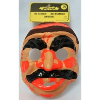 Vintage Pirate Halloween Mask Medica 1967 Rare Demon Childs Size Collectible