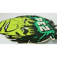 Vintage Incredible Hulk PEZ Halloween Mask Paper 1980's 80's Marvel Comics