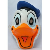 Vintage Walt Disney Donald Duck Halloween Mask CeSar Costumes French Import