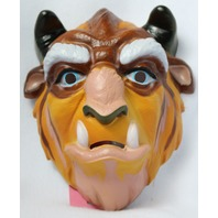 Vintage Walt Disney Beast Mask Beauty and the Beast Halloween CeSar Belle