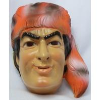 Vintage Walt Disney Davy Crockett Halloween Mask CeSar Costumes Y096