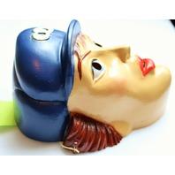 Vintage Hasbro GI JOE Halloween Mask Set of 4 Lady Jaye Speedy Flint Destro 1986 Rare