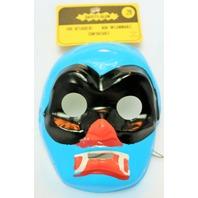 Vintage Lucha Libre Wrestler Halloween Mask Masked Hero 1960's 1967 Medica Safety Glow