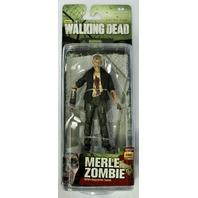 AMC Walking Dead Merle Dixon Zombie Action Figure Series 5 McFarlane Toy