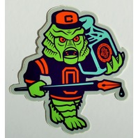 Clark Orr Creature Monster Sticker Original Universal Ricou Mascot