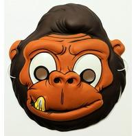 Vintage Gorilla Halloween Mask Topstone Monkey Kong Ape Primate Y135
