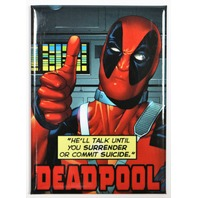 Deadpool FRIDGE MAGNET Comic Book Marvel Comics Humor Funny Dead Pool B12