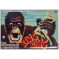 King Kong 1933 Movie Poster FRIDGE MAGNET Monster Vintage Style