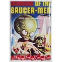 Invasion of the Saucer Men Movie Poster FRIDGE MAGNET Monster Vintage Style