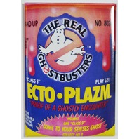 The Real Ghostbusters Ecto Plazm FRIDGE MAGNET Vintage Style Toy H4