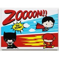 Justice League FRIDGE MAGNET DC Comics Superman Batman Flash Zoom E20