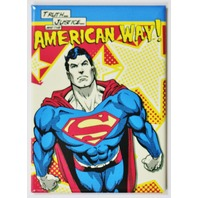 Superman The American Way FRIDGE MAGNET DC Comics Justice League Man of Steel