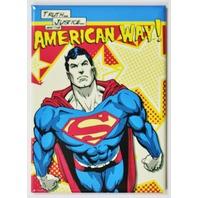 Superman The American Way FRIDGE MAGNET DC Comics Justice League Man of Steel