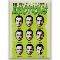 Big Bang Theory Sheldons Emotions Chart  FRIDGE MAGNET DC Comics Star Arrow i21
