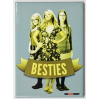 Big Bang Theory Besties FRIDGE MAGNET Sheldon Girls BFF Amy Penny Bernadette i22