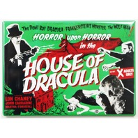 House of Dracula Movie Poster FRIDGE MAGNET Lon Chaney Frankenstein Wolfman
