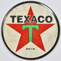 Texaco FRIDGE MAGNET Gas Oil Mechanic Garage Texas Gasoline Chevron E2