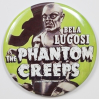 Bela Lugosi The Phantom Creeps Movie Poster FRIDGE MAGNET Monster Film 2 1/4 In