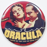 Bella Lugosi Dracula Movie Poster FRIDGE MAGNET Monster Film Sci Fi Horror 2 1/4