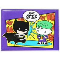 Chibi Batman and Joker FRIDGE MAGNET Comic Book DC Comics Cape Crusader Gotham