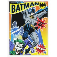 Batman Fighting The Joker FRIDGE MAGNET DC Comics Harley Quinn L20